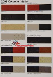 Interior Color Chart Zr1 Interior Color Chart Please Post If You Have It