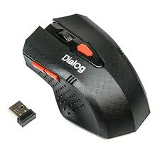 Оптическая беспроводная USB <b>мышь Pointer Dialog</b> MROP-09U