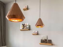 handmade copper pendant lamp copper light cl 25 by vij5 design david derksen