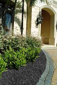 rubber mulch review. Delighful Mulch Residential Landscape  GroundSmart Black Rubber Mulch With Review L