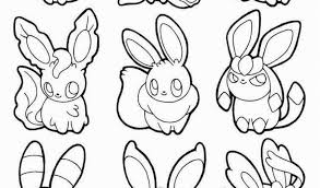 Eeveelutions Coloring Pages Eeveelutions Coloring Pages 22 Pokemon