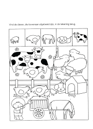 animals worksheets for grade 1