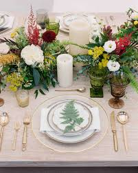 Irish Table Settings It Was Back To Back Weddings For This Couple In St Louis Martha