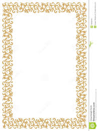 рамка диплома сертификата золотистая Иллюстрация вектора  рамка диплома сертификата золотистая