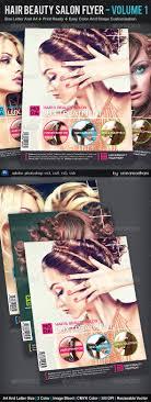 nail beauty salon tri fold brochure template dlayouts hair and beauty salon flyer volume 1