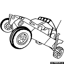 Small Picture 4x4 Off Road Baja vehicle Online Coloring Pages Page 1