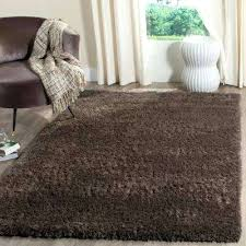 faux fur rug 8x10 8 x dark brown solid grant area rugs the home intended for faux fur rug