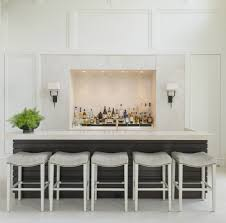 White home bar furniture Wooden View In Gallery Luxe Home Bar By Aggregate Architecture Design Techsnippets 35 Chic Home Bar Designs You Need To See To Believe