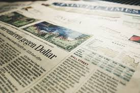 Newspaper Zeitung Financial Times Newspaper Financial Times The Society 19