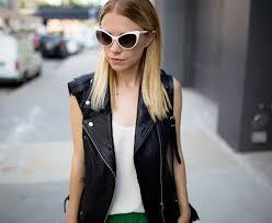 summer trend leather vest