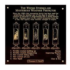 Weems Stormglass Plate