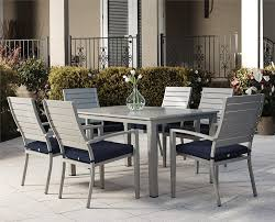 Amazon com cosco 88586bgbe blue veil patio dining chairs 6 pack navy garden outdoor