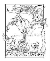 Adult Coloring Pages Set Of Five Coloring Pages Fantasy