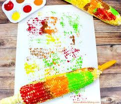 fun corn cob craft painting for kids thanksgiving crafts thanksgiving arts crafts corn