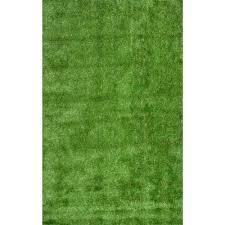 nuloom artificial grass green 8 ft x 10 ft indoor outdoor area rug