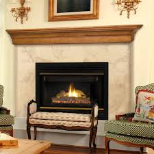 image of fireplace mantel shelves display