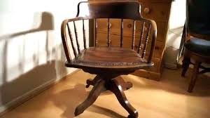 antique office chair parts. Antique Oak Desk Chair Parts Wooden Office Vintage Prof Solid Old