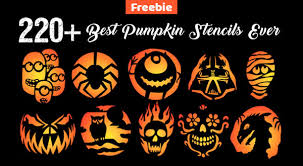 Free Pumpkin Carving Patterns Magnificent 48 Free Printable Halloween Pumpkin Carving Stencils Patterns