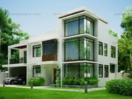 Filipino Inspired Double Storey House  Home DesignTwo Storey Modern House Designs