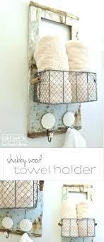 Bathroom Towel Hanging Ideas Towel Holder Ideas Best Hanging Bath