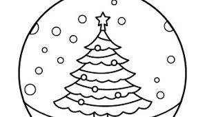 Free coloring merry christmas banner. Christmas Ornament Coloring Page Tim S Printables