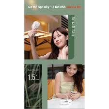 Quạt sạc tích điện mini cầm tay 6000/5000mAh có thể đặt bàn kiêm pin sạc dự  phòng Yoobao F3 Pro - Quạt Đứng