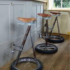 Bicycle Furniture Bicycle Bar Stools Bike Bar Stool Vintage Industrial Retro