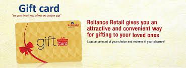Gift Card Balance - RelianceOne