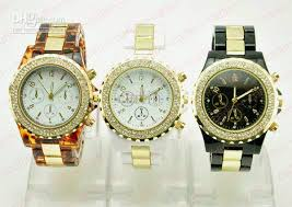 luxury classic watch diamonds gold fashion women lady gift cores package opp plastic bag condition brand new out tag style no wl 51 watch diamond no calendar 3 colours black silver coffee