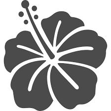 ハイビスカスのフリーイラスト アイコン素材ダウンロードサイト