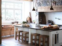 One Wall Kitchen Designs With An Island Interior Custom Decorating