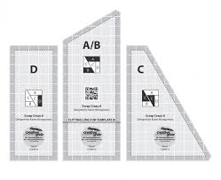 Creative Grids Scrap Crazy Templates Quilt Ruler # CGRMT4 | eBay & Picture 1 of 1 Adamdwight.com