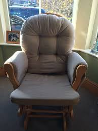hauck nursing rocking chair and rocking footstool