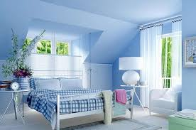 Light Blue And Gray Bedroom Bedrooms With Light Blue Walls