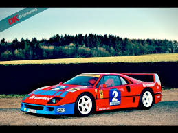 That is a landmark in the history of fast cars. Race Car For Sale 1990 Ferrari F40 Gt Retro Race Cars