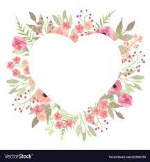 Beautiful Heart Design Flowers Heart Beautiful Paper Art Pink Design