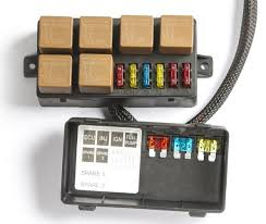 wiring engine management systems the harness also includes a fuse box five fuses and five relays