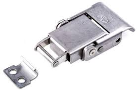 spring loaded latch mechanism. stainless steel toggle latch,lockable, lock not included,spring loaded, 30kgf op spring loaded latch mechanism l