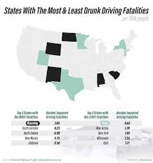 Worst States For Drunk Driving Accidents Alcohol Org