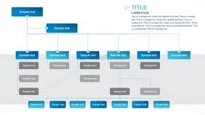 Organizational Chart Hierarchy Powerpoint Slidemodel