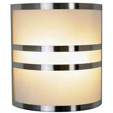 monument 617605 brushed nickel wall sconce with accents 10 in lighting sconces indoor com