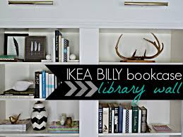 ikea bookcase lighting. welcome to day 3 of our ikea billy bookcase library wall reveal we did the before and after showed how installed wired hidden ikea lighting