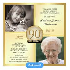 90 Birthday Party Invitations 90 Birthday Invitations Magdalene Project Org