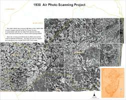 1930 s air photo scanning project