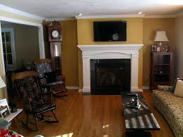 the addition gas fireplace hanging adding small exterior to existing home cost of a an install wood burning fireplace existing home