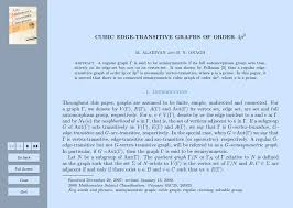 4p Cubic Edge Transitive Graphs Of Order