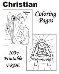 Small Picture Lots of great Christian Christmas printable coloring pages and