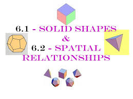 6.1 - Solid Shapes & Spatial Relationships - ppt download