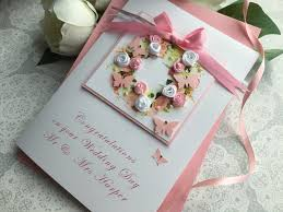 handmade wedding cards personalised wedding cards pink & posh Personalised Handmade Wedding Cards luxury handmade wedding card \u201crose floral wreath\u201d personalised handmade wedding cards