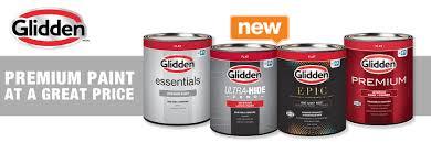 glidden premium paint at a great
